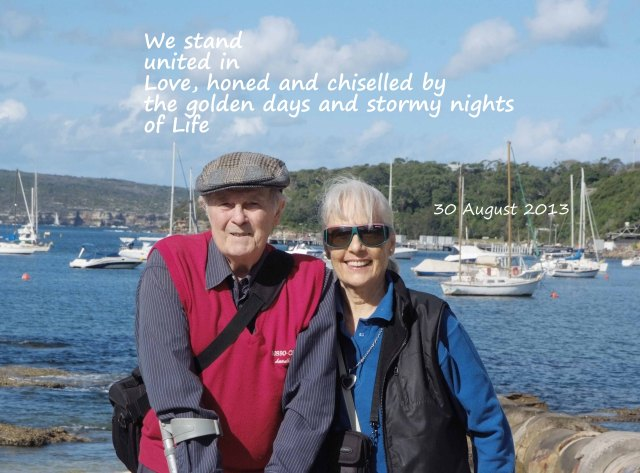 On Our 55th Wedding Anniversary - Cinquain